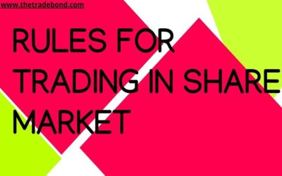 GOLDEN RULES OF TRADING IN SHARE MARKET