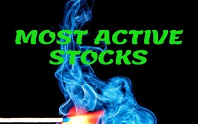 MOST ACTIVE STOCKS